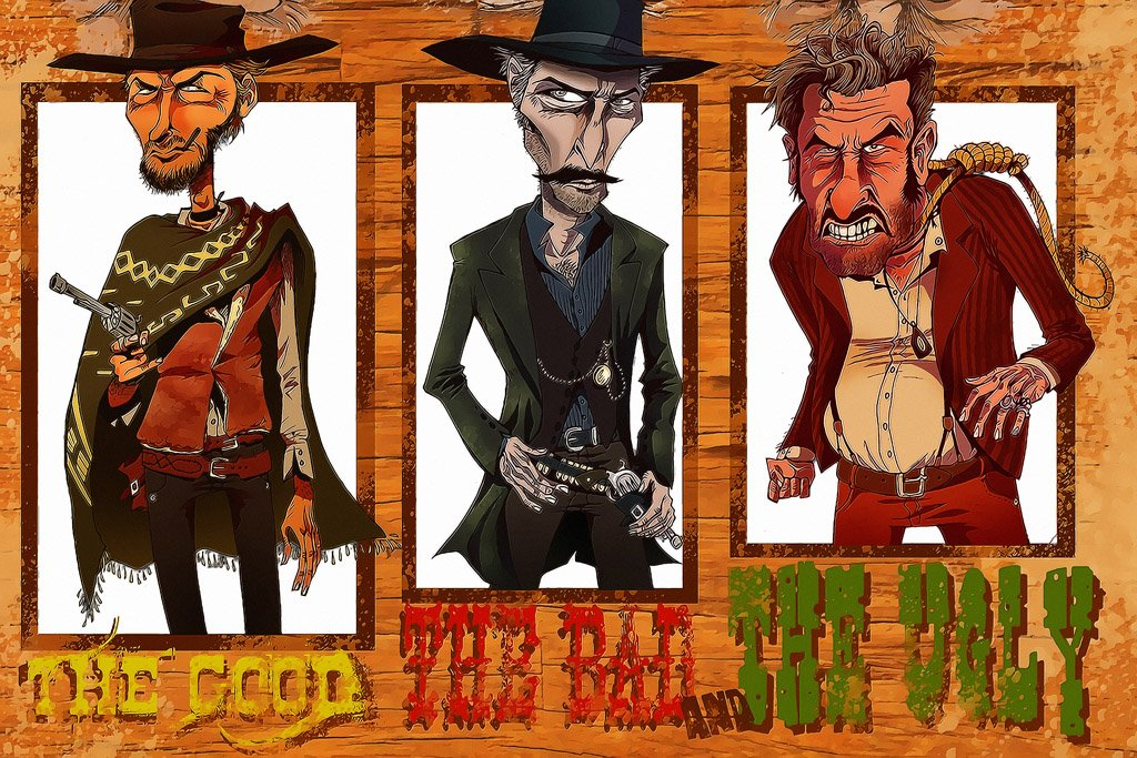 The Good, the Bad and the Ugly (1966) Movie Poster