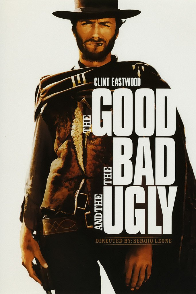 The Good, the Bad and the Ugly (1966) IMDB Top 250 Poster