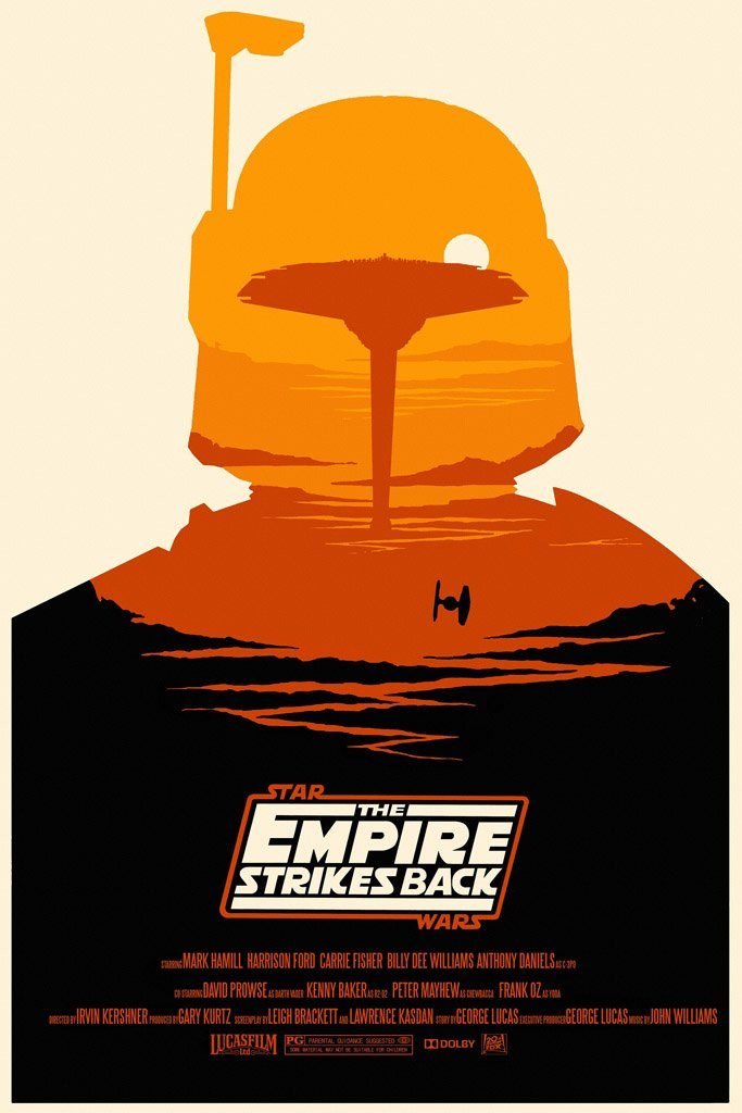 The Empire Strikes Back (1980) Movie Poster