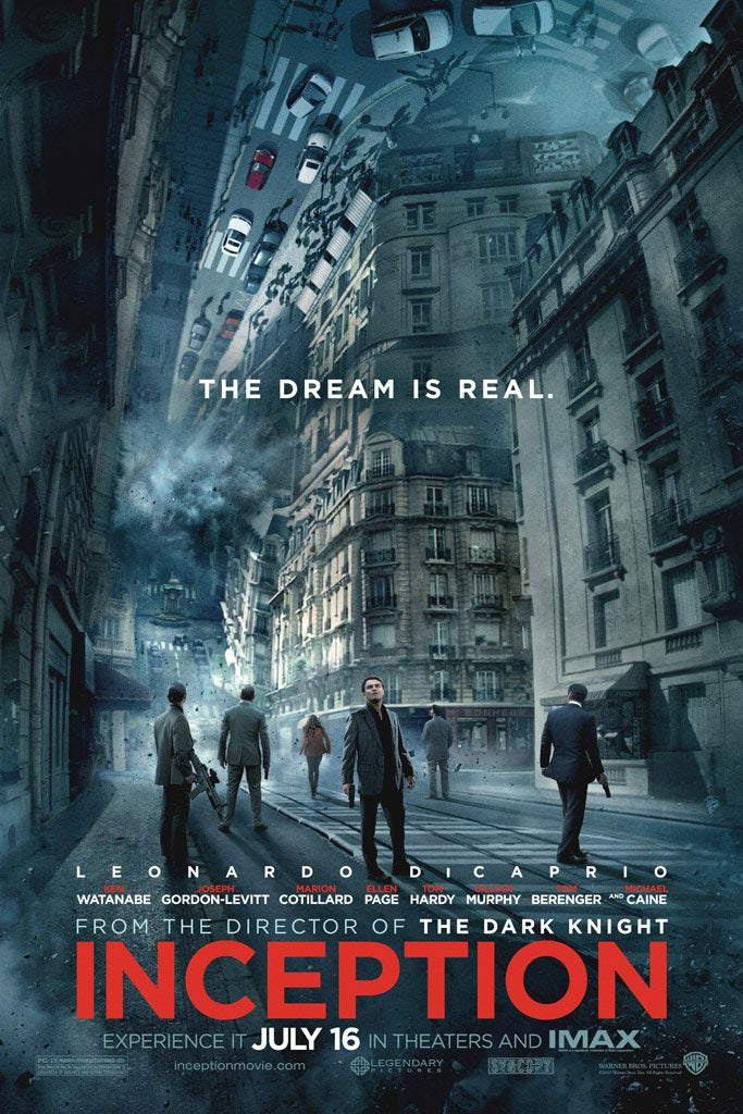 Inception (2010) Movie Poster