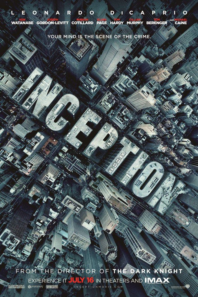 Inception (2010) IMDB Top 250 Poster – My Hot Posters