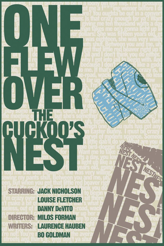 One Flew Over the Cuckoo's Nest (1975) Movie Poster