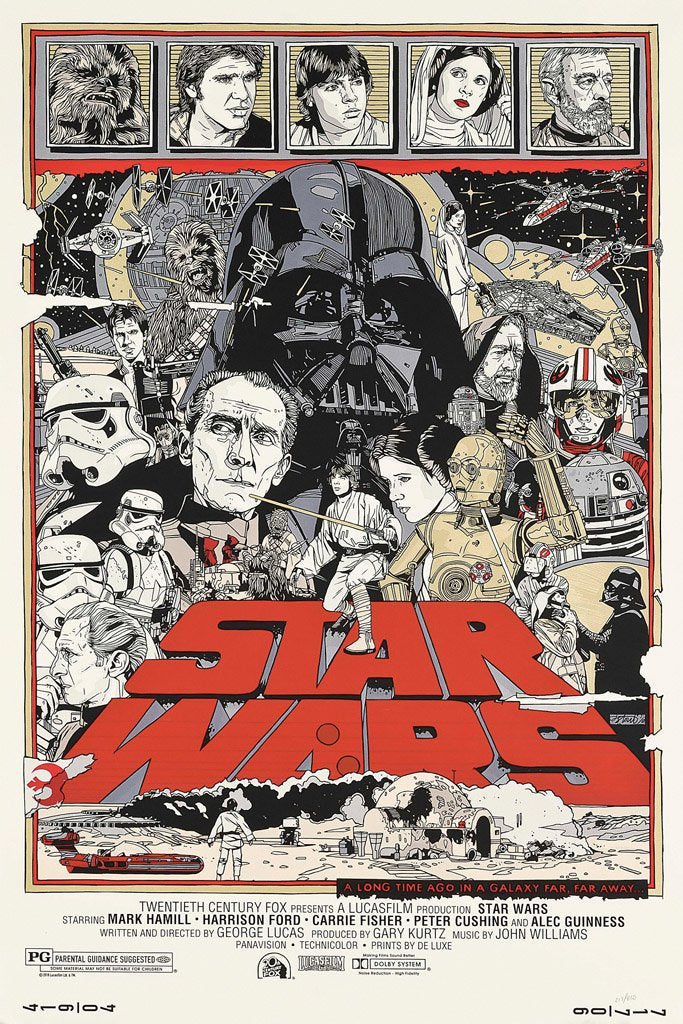 Star Wars Episode Iv A New Hope 1977 Poster My Hot Posters