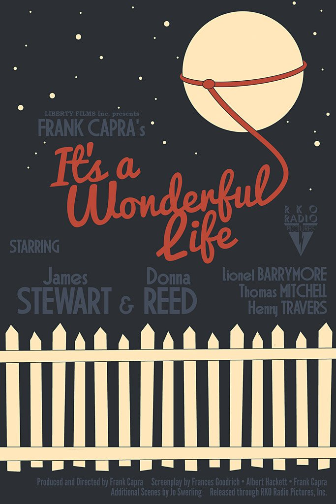 It 39 S A Wonderful Life 1946 Movie Poster My Hot Posters Poster Store