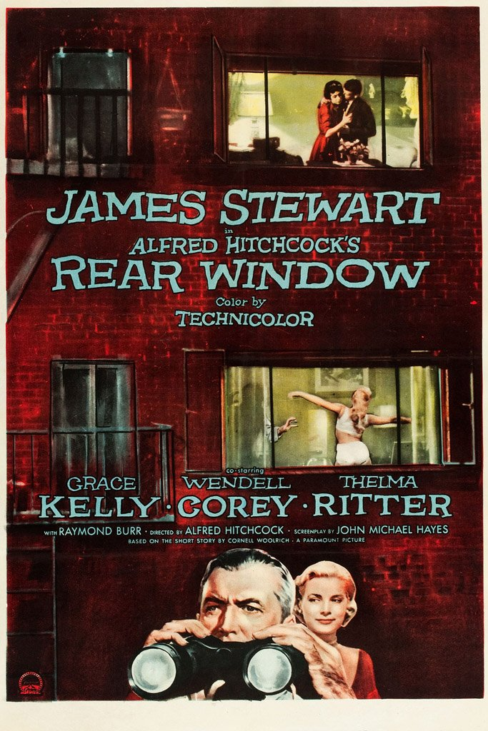 Rear Window (1954) Movie Poster – My Hot Posters