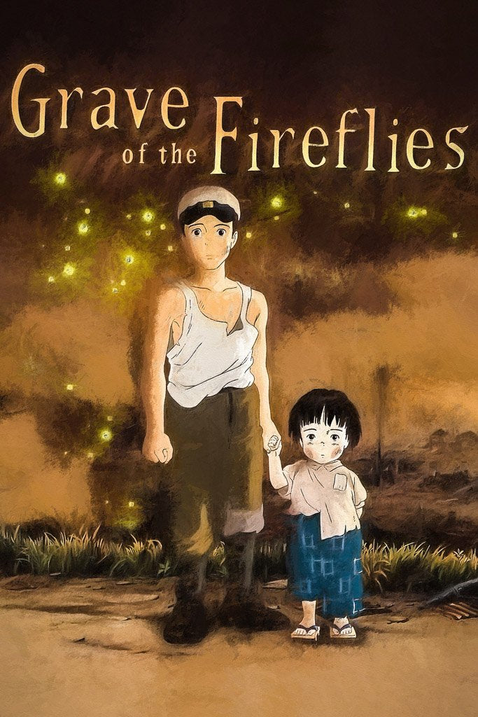 Grave of the Fireflies (1988) IMDB Top 250 Poster