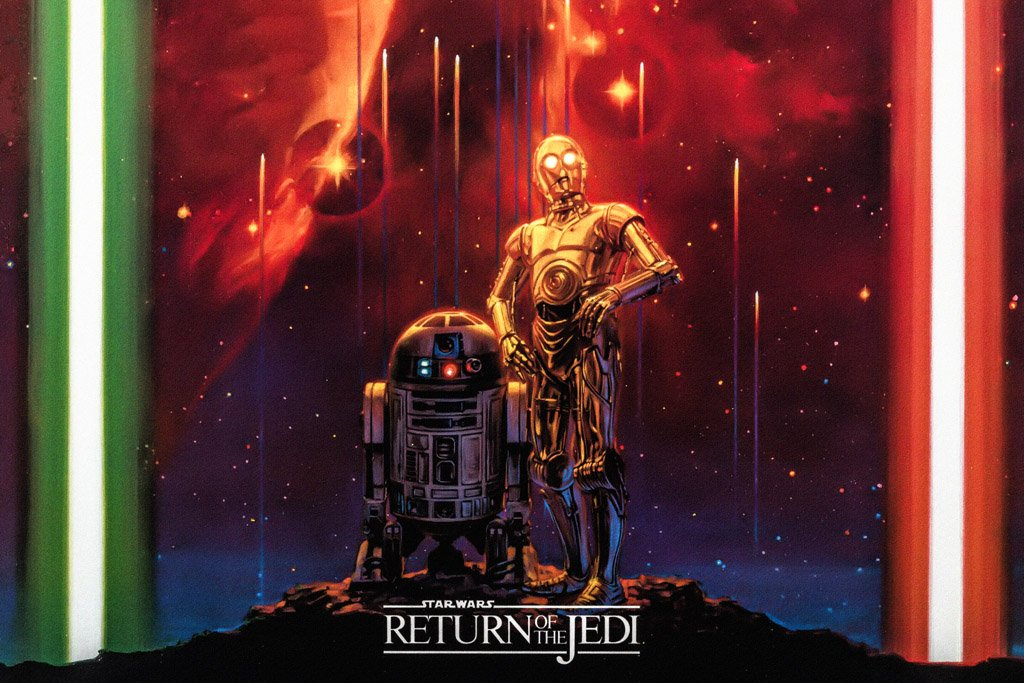 Episode VI - Return of the Jedi (1983) Film Poster
