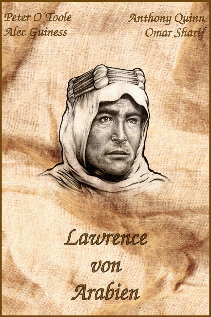Lawrence of Arabia (1962) Movie Poster