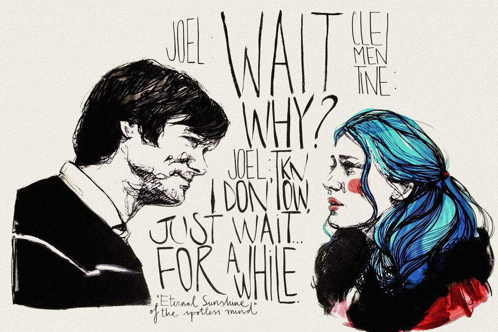 Eternal Sunshine of the Spotless Mind (2004) Movie Poster