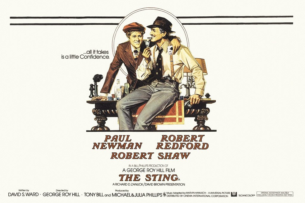 The Sting (1973) IMDB Top 250 Poster – My Hot Posters