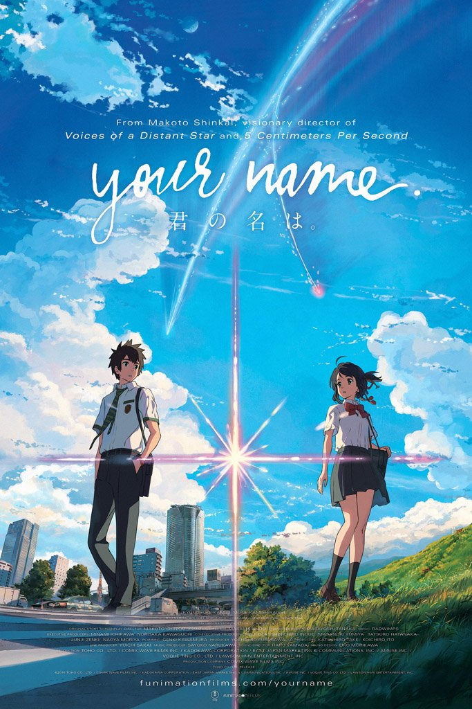 Your Name (2016) Movie Poster