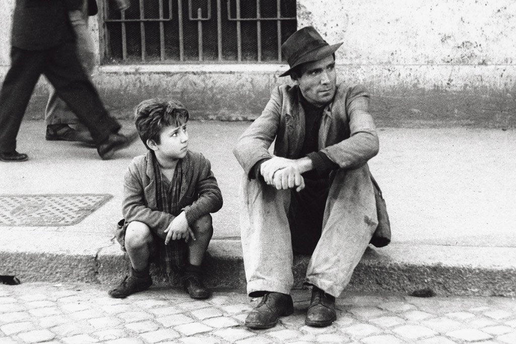 Bicycle Thieves (1948) IMDB Top 250 Poster