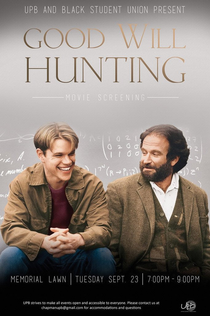 Good Will Hunting 1997 Poster My Hot Posters
