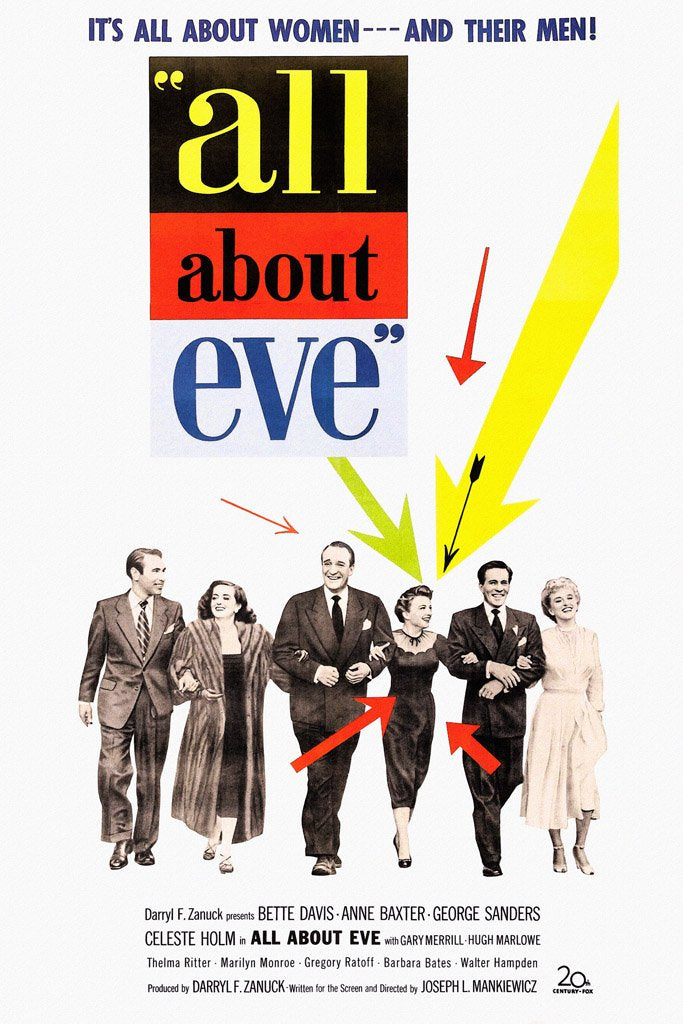 All About Eve (1950) Poster