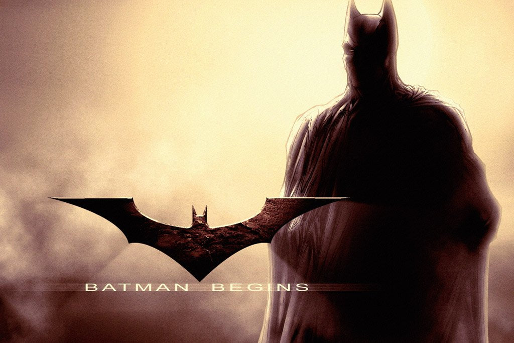 Batman Begins (2005) Movie Poster