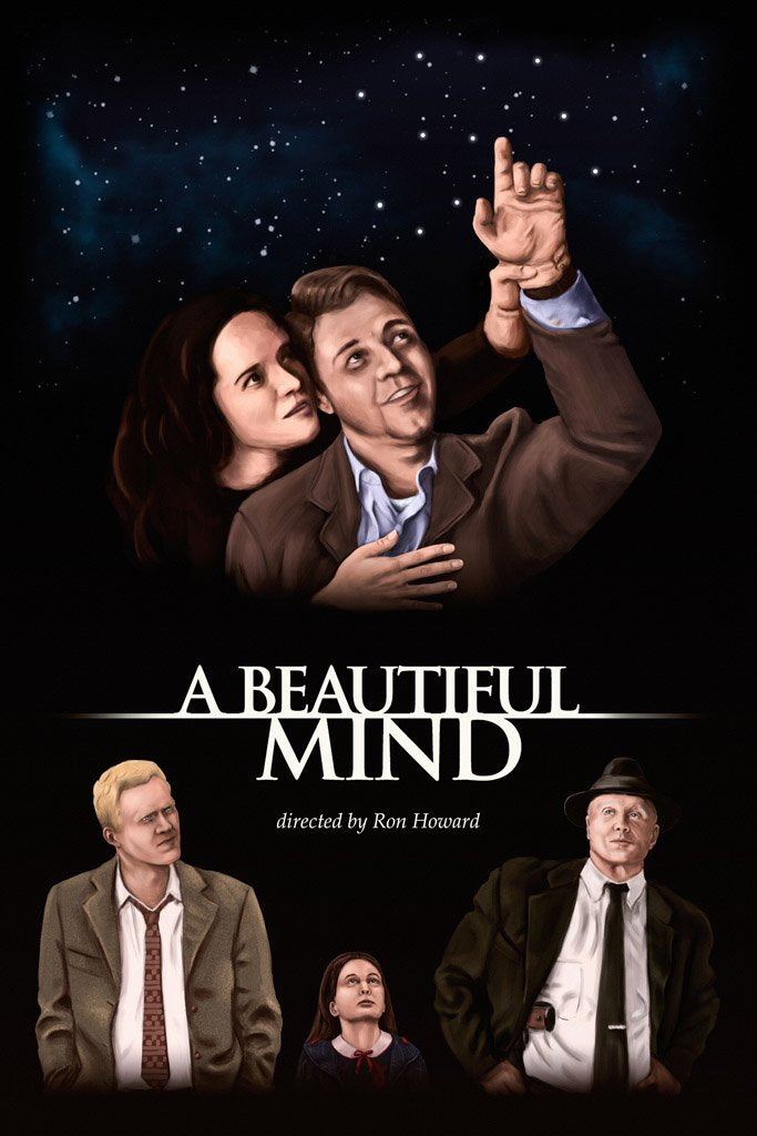 A Beautiful Mind (2001) IMDB Top 250 Poster