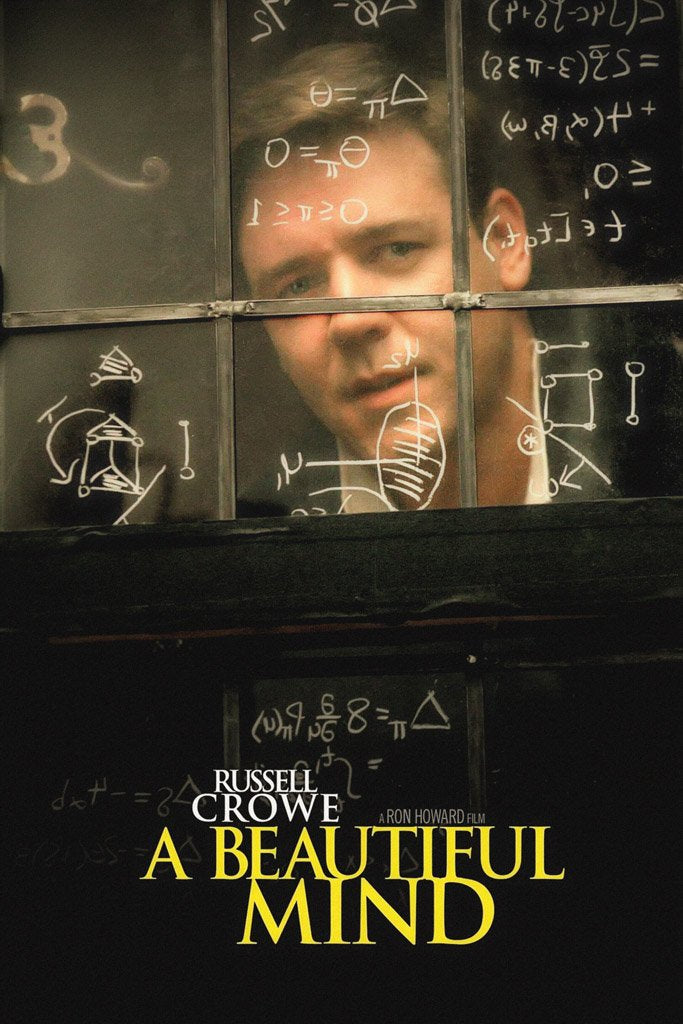 A Beautiful Mind (2001) Film Poster