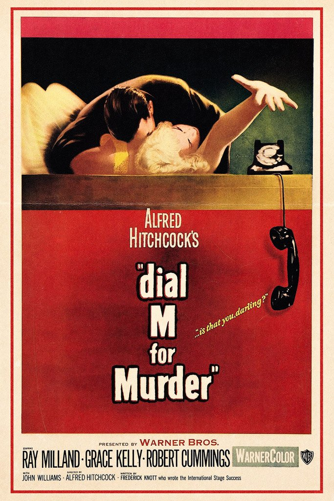 Dial M for Murder (1954) Poster