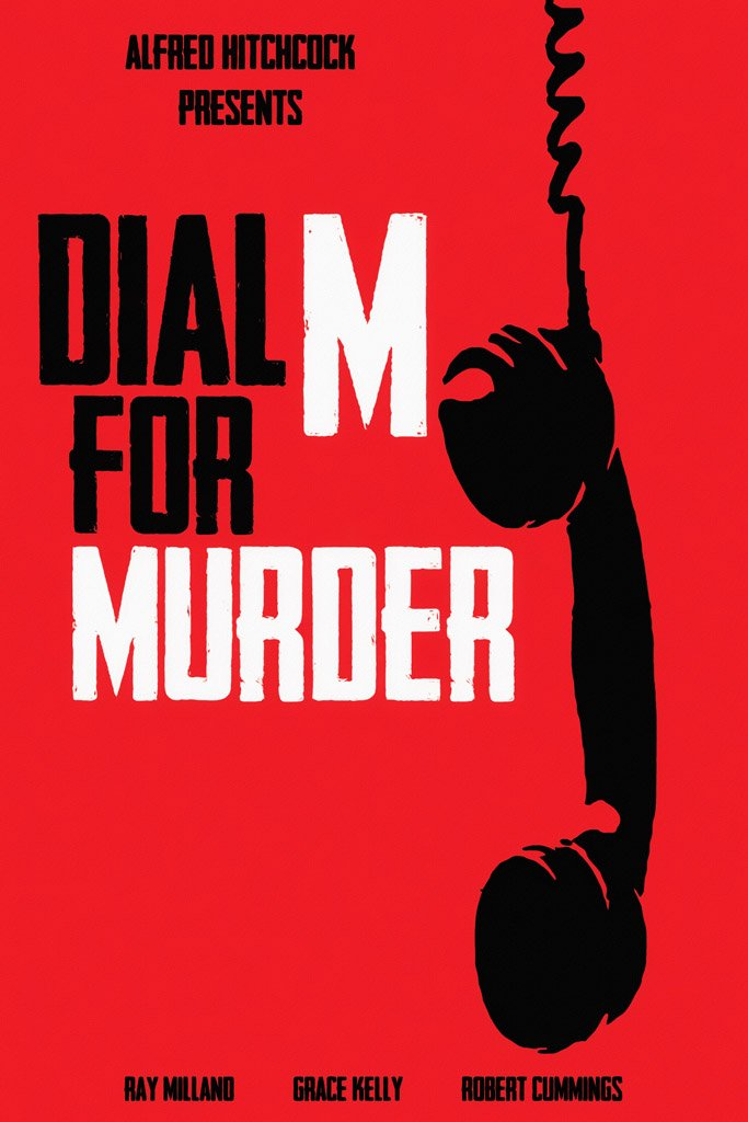 Dial M for Murder (1954) Movie Poster