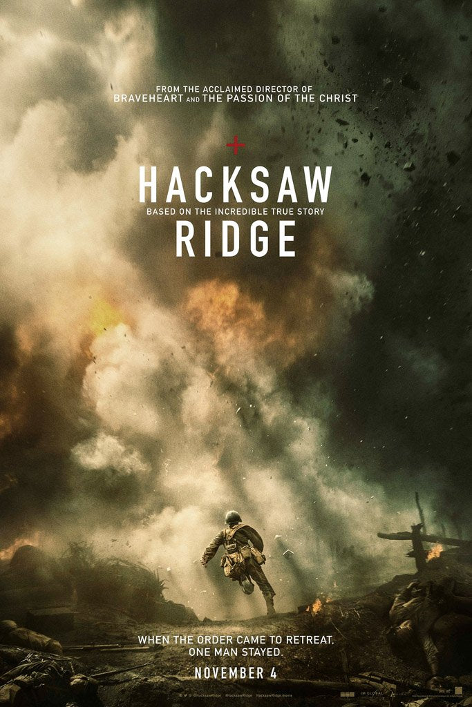 Hacksaw Ridge (2016) IMDB Top 250 Poster