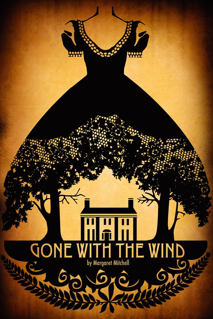 Gone with the Wind (1939) IMDB Top 250 Movie Poster