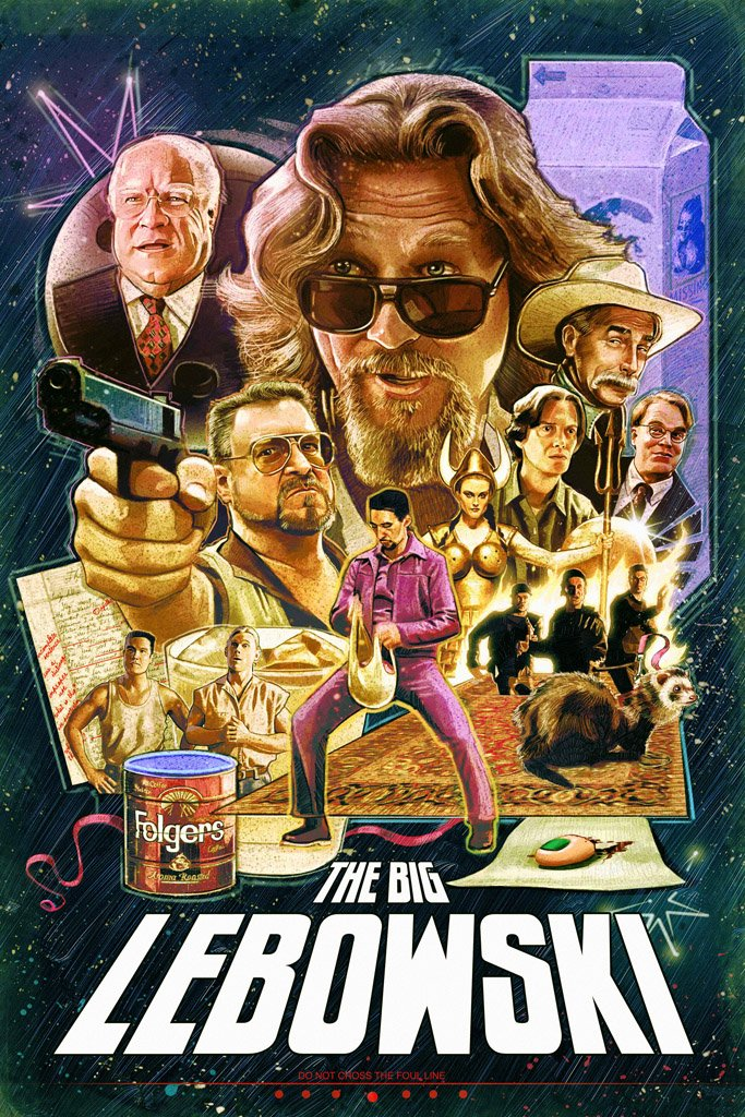 The Big Lebowski (1998) Poster