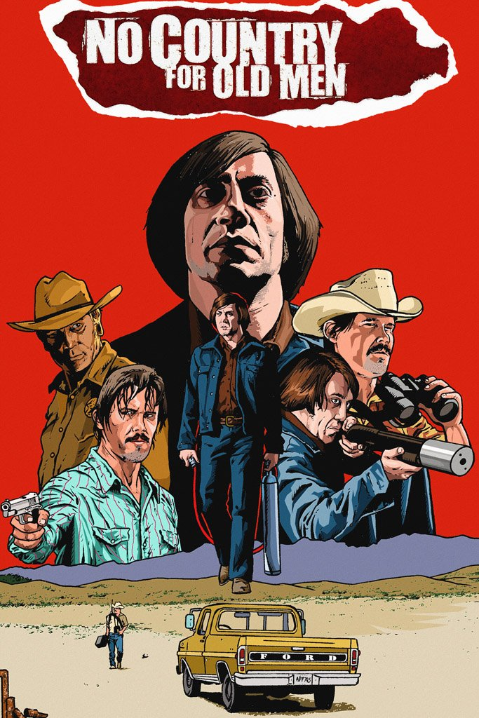 No Country For Old Men 2007 Movie Poster My Hot Posters