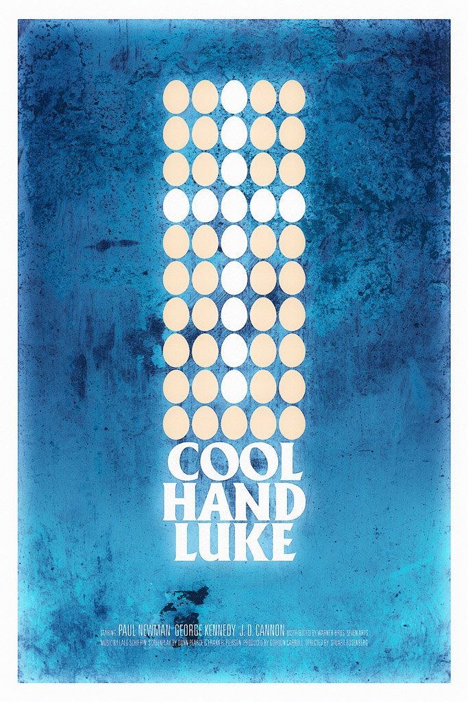 Cool Hand Luke (1967) Film Poster
