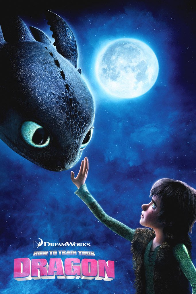 How To Train Your Dragon 2010 Movie Poster My Hot Posters