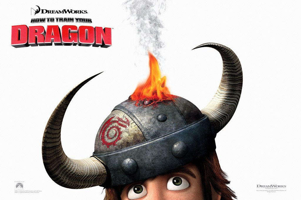 How to Train Your Dragon (2010) IMDB Top 250 Poster