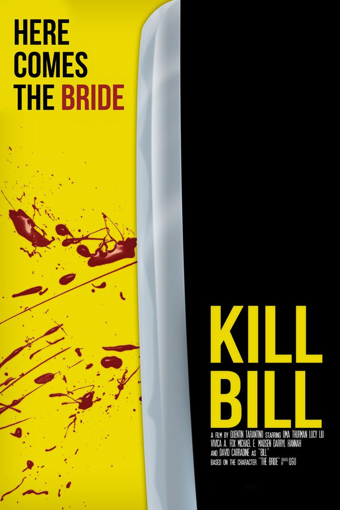 Kill Bill Vol.1 (2003) Movie Poster