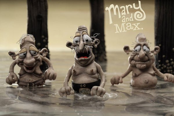 Mary And Max 2009 Imdb Top 250 Poster My Hot Posters