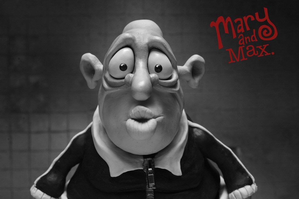 Mary And Max 2009 Imdb Top 250 Movie Poster My Hot Posters