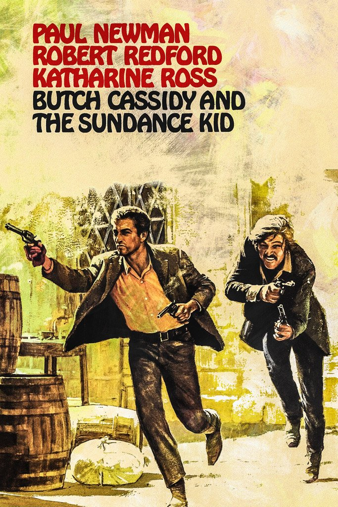 Butch Cassidy and the Sundance Kid (1969) Movie Poster
