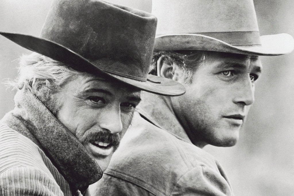 Butch Cassidy and the Sundance Kid (1969) IMDB Top 250 Poster