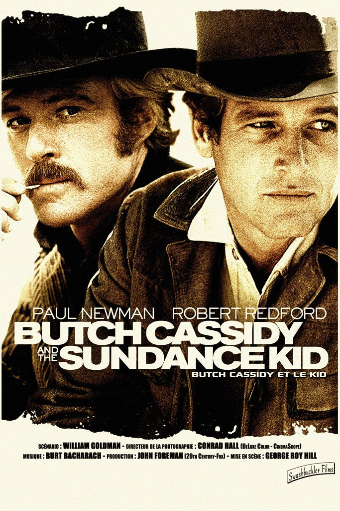 Butch Cassidy and the Sundance Kid (1969) Film Poster