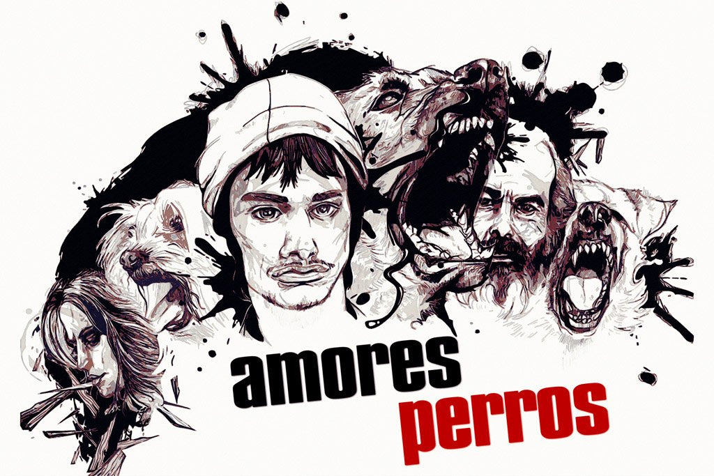 Amores Perros (2000) Movie Poster