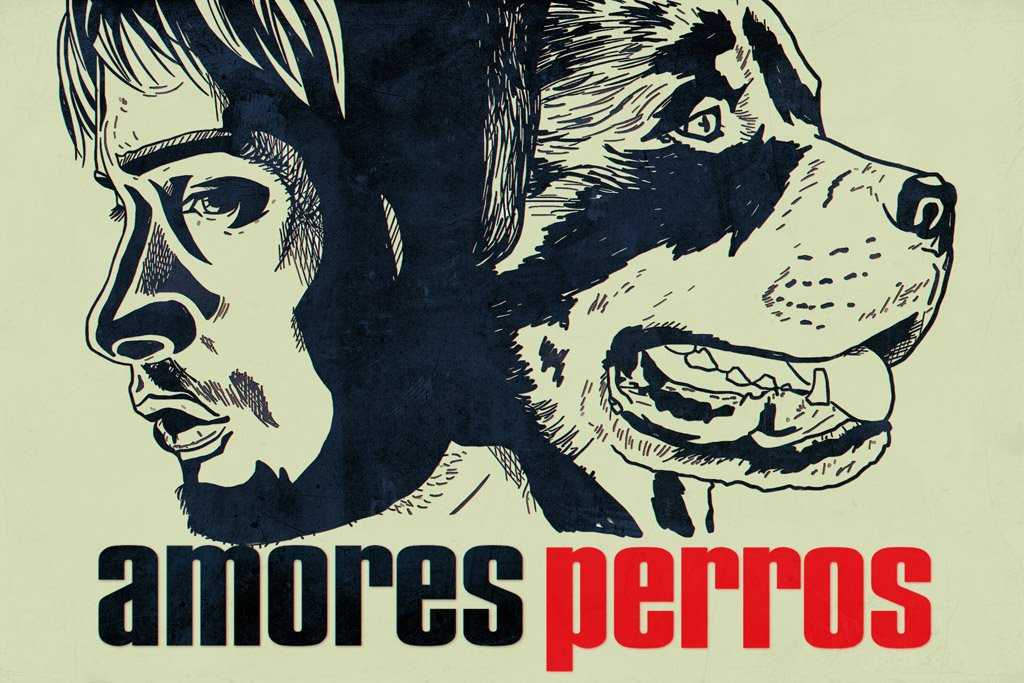 Amores Perros (2000) IMDB Top 250 Poster