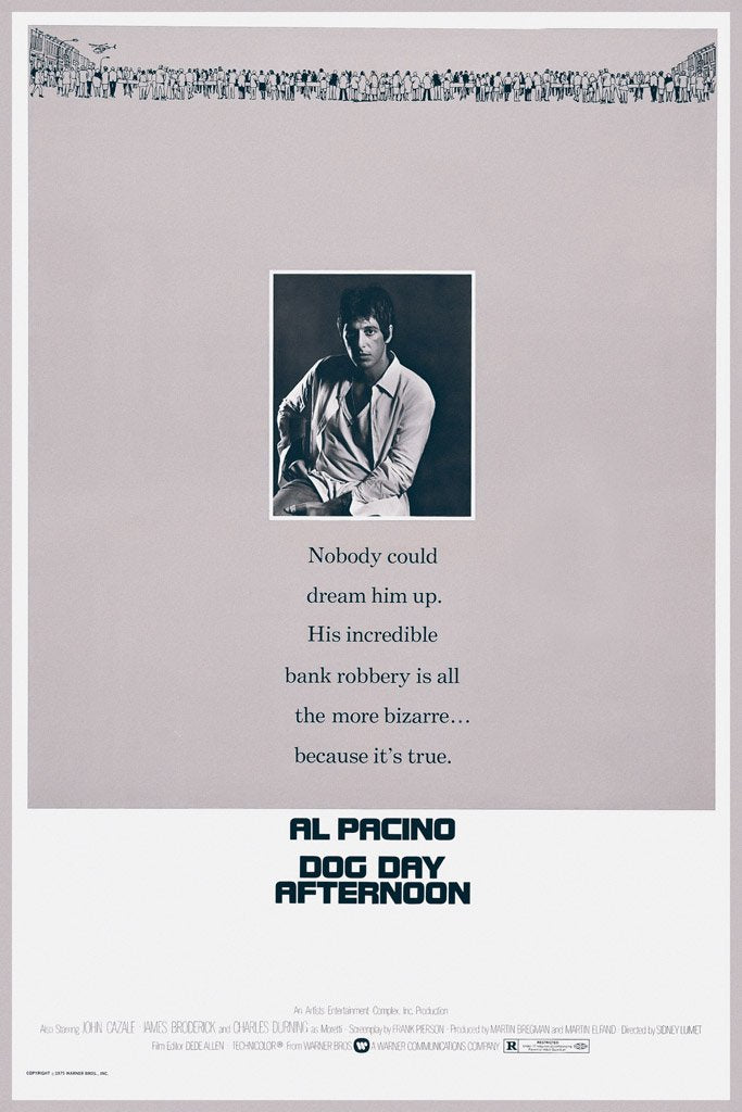 Dog Day Afternoon (1975) Film Poster
