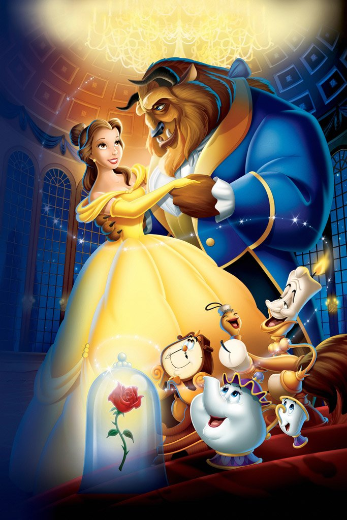 Beauty and the Beast (1991) Movie Poster