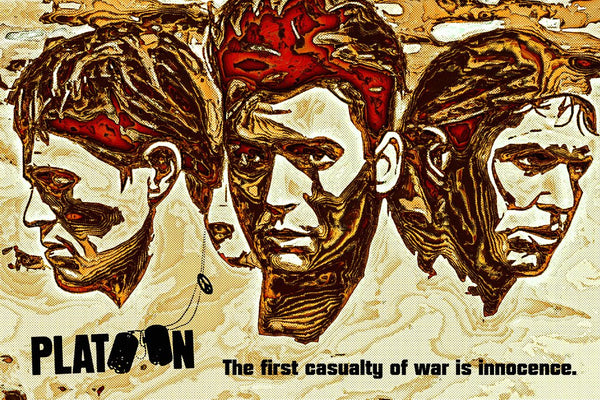 1986 PLATOON • A4 to A1 POSTER • FREE DELIVERY