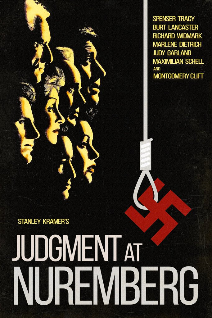 Judgment at Nuremberg (1961) Poster
