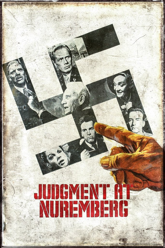 Judgment at Nuremberg (1961) Movie Poster