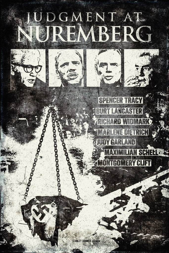 Judgment at Nuremberg (1961) IMDB Top 250 Poster