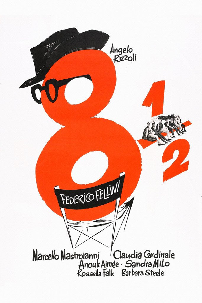 8½ (1963) Poster
