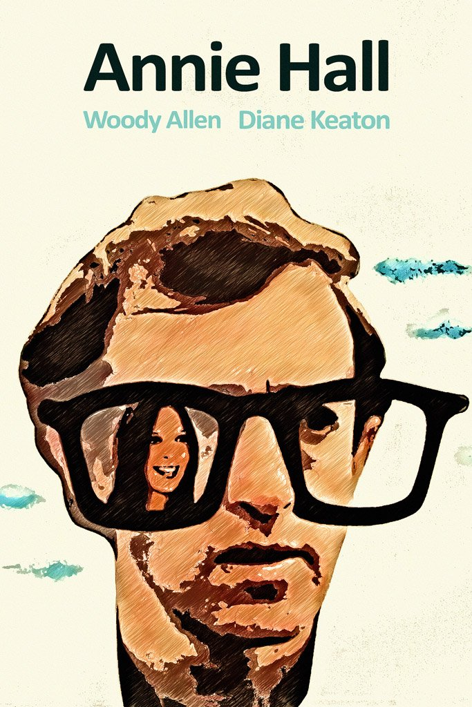 Annie Hall (1977) IMDB Top 250 Poster