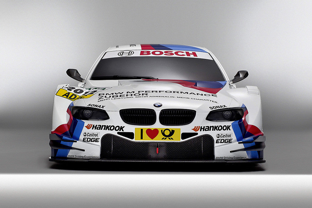 BMW M Series Car Auto White Colorful Poster