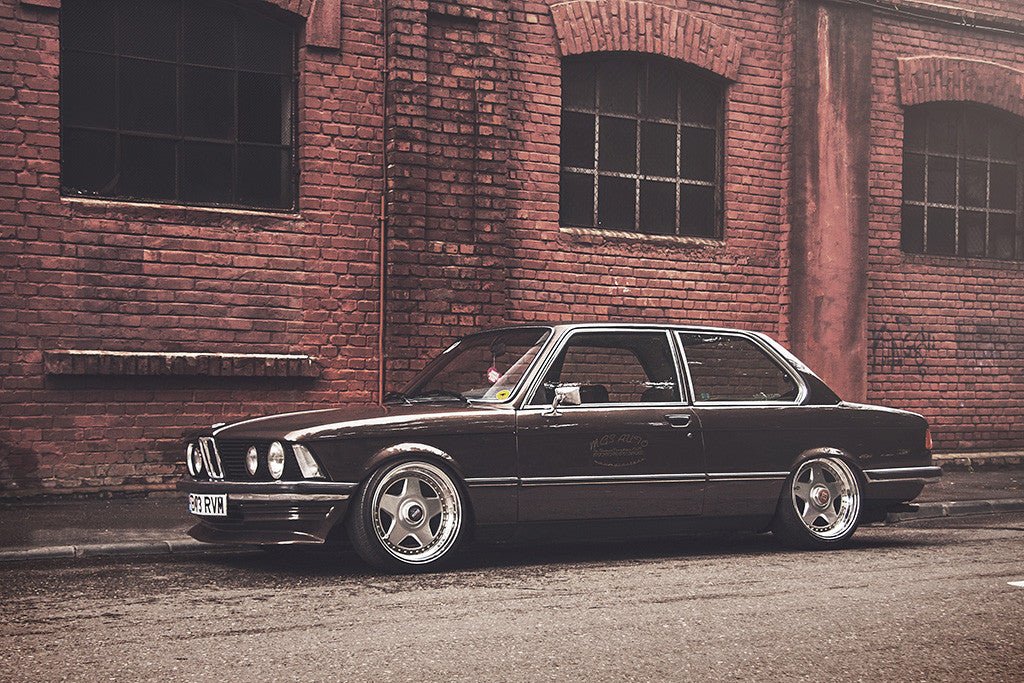 BMW E21 Retro Car Auto Poster