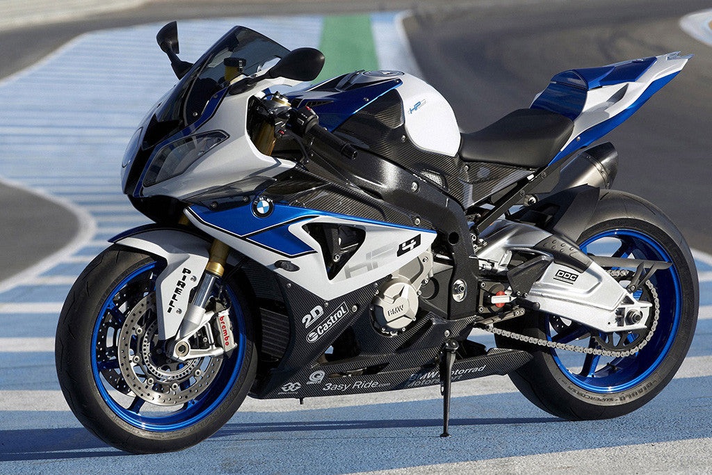 motorbike bmw s1000rr hp4 poster my hot posters. Black Bedroom Furniture Sets. Home Design Ideas
