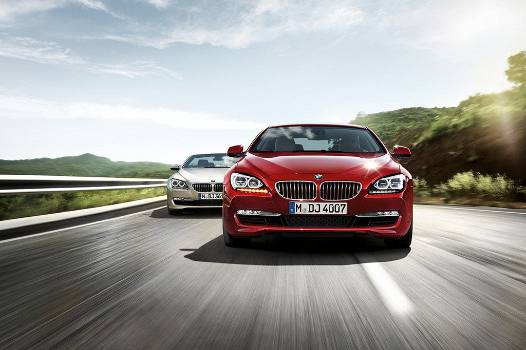 Cars BMW 6 Series Poster
